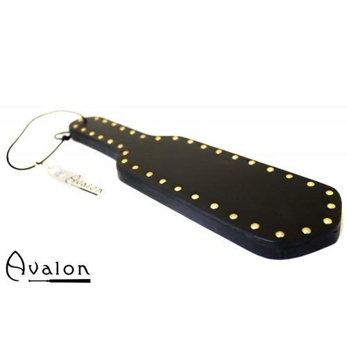 Avalon - SHIELD - Paddle i tre med nagler - Sort