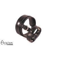 Avalon - ENDURENCE - cock & ball harness med spenner - Sort