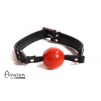 Avalon -QUIET - Gag med rød ball 40 mm