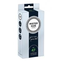Mister Size – 47mm – 10stk Tynne Kondomer