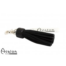 Avalon - PRIDE - Kort nøkkelring flogger, sort