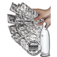 Secura nøytrale Kondomer 1 stk