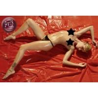 PVC Laken 200 x 230 cm Rød