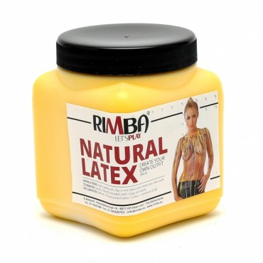 Rimba - Flytende Latex - Gul 500ml