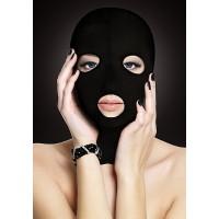 Ouch! - Spandex 3 hulls maske Sort