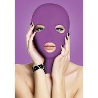 Ouch! - Spandex 3 hulls maske Lilla