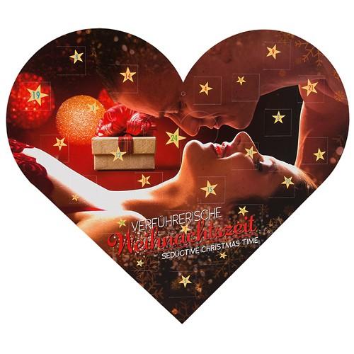 Hjerteformet Adventskalender-Forførende juletid