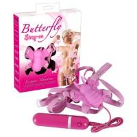 Butterfly - Strap-on vibrator