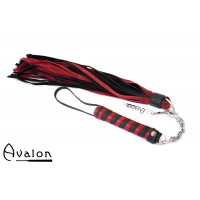 Avalon - CLARENT - Swivel Flogger - Rød og sort