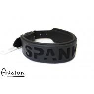 Avalon -  I NEED YOU - Collar Spank Me  - Svart