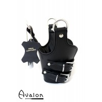 Avalon - Suspensjoncuffs med polstring sort