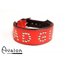 Avalon - YOU'RE MY - Collar Bad girl - Rød