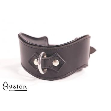 Avalon - Collar med god polstring, Sort