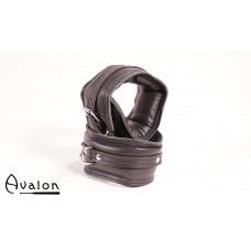 Avalon - ENSNARE - Polstrete Ankelcuffs Svart