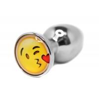 BQS - Buttplug med emoji - Kysse Smiley