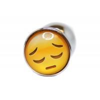 BQS - Buttplug med emoji - Trist Smiley