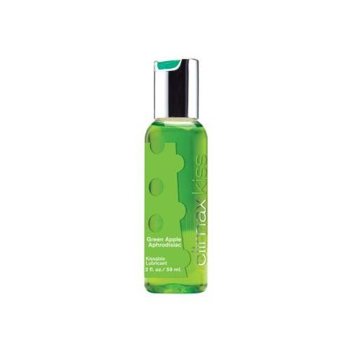 Climax - Kiss Green apple aphrodisiac - Glidemiddel med Eplesmak