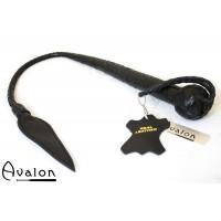 Avalon - Kort bullwhip, Sort
