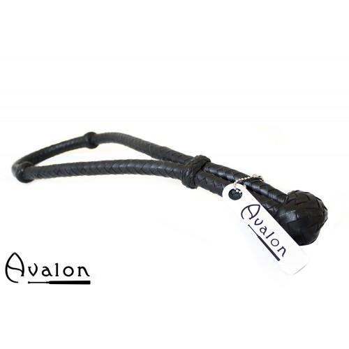 Avalon - CYCLOPS - Svart Loop Pisk i Lær