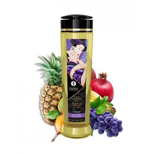 Shunga - Libido Exotic Fruits - Massasjeolje - 240ml