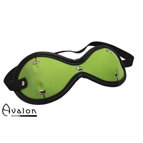 Avalon - Sengekos -  SEER - Blindfold med Nagler Gønn