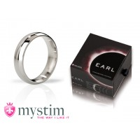 Mystim - The Earl - Polished penisring, 55mm