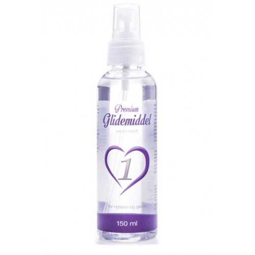 Premium - Vannbasert Glidemiddel - Nøytral - 150ml