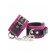 Rimba - Håndcuffs i lær - Rosa