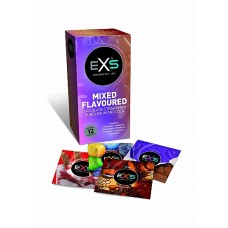 EXS - Mixed flavoured - 12 pk kondomer